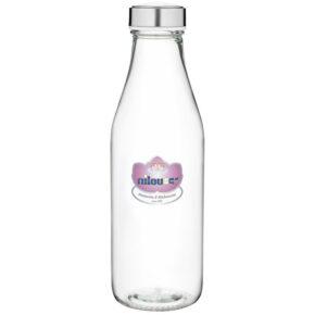 بطری شیر گرد ساده نیلوفر