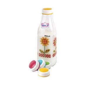 بطری شیر زئوس گلدار نیلوفر