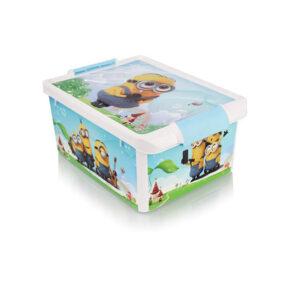 جعبه طرح دار کودک کوچک هوم کت