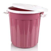 سطل زباله رینگ دار پلاس بازن پلاستیک