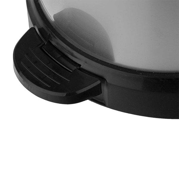 سطل پدالی ۲۰ لیتری استیل پرو بازن پلاستیک