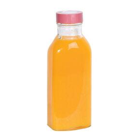 بطری آب چهارگوش لیمون