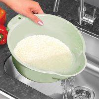 برنج شوی بدون درب ساده لیمون