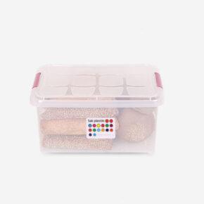 باکس قفلی رویال ۳ تک پلاستیک