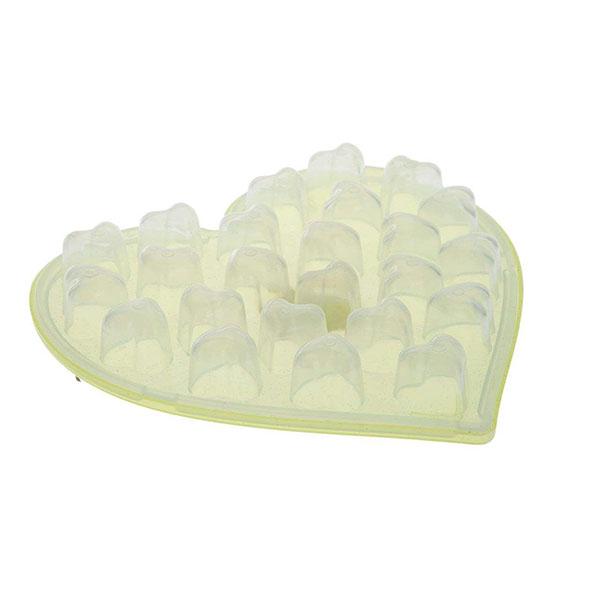 قالب یخ طرح قلب تک پلاستیک