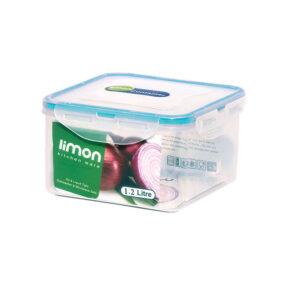 ظرف فریزری مربع ۱.۲ لیتری لیمون
