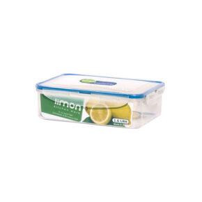 ظرف فریزری مستطیل ۱.۶ لیتری لیمون