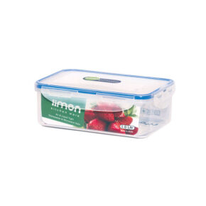 ظرف فریزری مستطیل ۱ لیتری لیمون