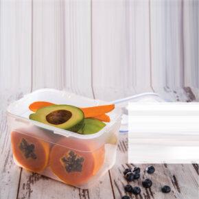 ظرف فریزری مستطیل ۲.۴ لیتری لیمون