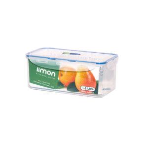 ظرف فریزری مستطیل ۳.۴ لیتری لیمون