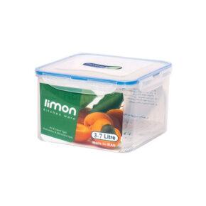 ظرف فریزری مربع ۳.۷ لیتری لیمون