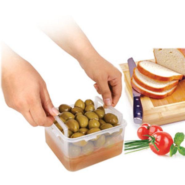 ظرف نگهداری پنیر و زیتون لیمون
