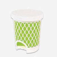 سطل بامبو کوچک تک پلاستیک