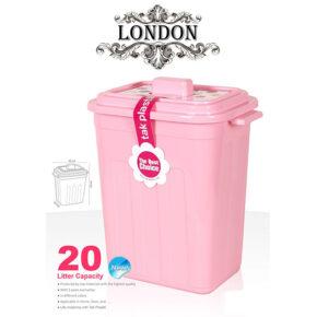 سطل دربدار ۲۰ لیتری لندن تک پلاستیک
