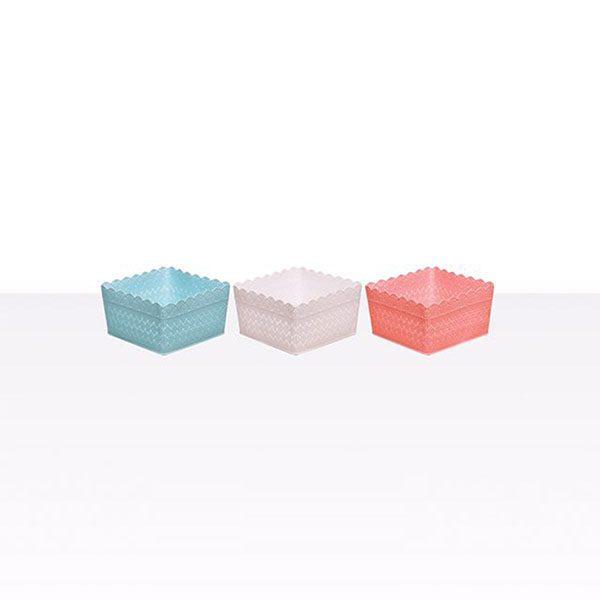 سبد مربع ترنج کوچک مرسه پلاست