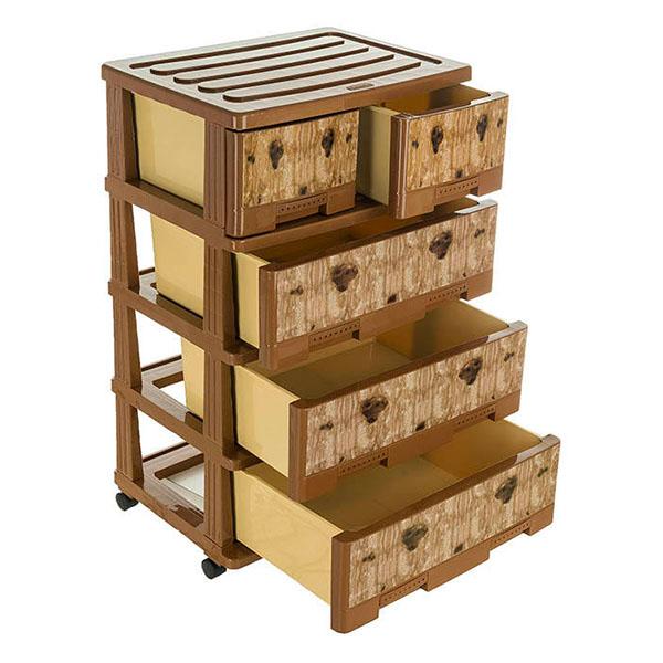 دراور 2XL طرحدار صادراتی ۴ طبقه هوم کت