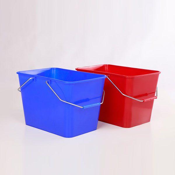 سطل مستطیل ۱۵ لیتری مهسان