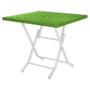 میز تاشو ۴ نفره پایه فلزی هوم کت