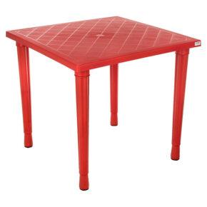 میز ۴ نفره پایه پلاستیکی هوم کت