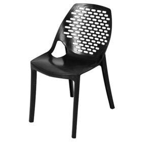 صندلی آتیلا بدون دسته نقش بیضی هوم کت