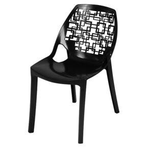 صندلی آتیلا بدون دسته نقش اسپیرال مربع هوم کت