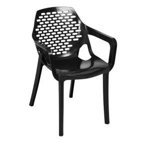 صندلی آتیلا دسته دار نقش بیضی هوم کت