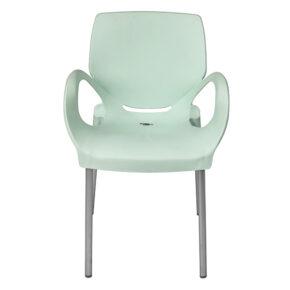 صندلی دسته دار پایه آلومینیوم هوم کت