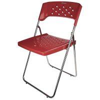 صندلی پایه فلزی تاشو طرح دار هوم کت