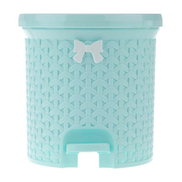 سطل پدالی کوچک لایف بازن پلاستیک