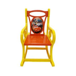 صندلی راک کودک طرح ماشین قرمز هوم کت