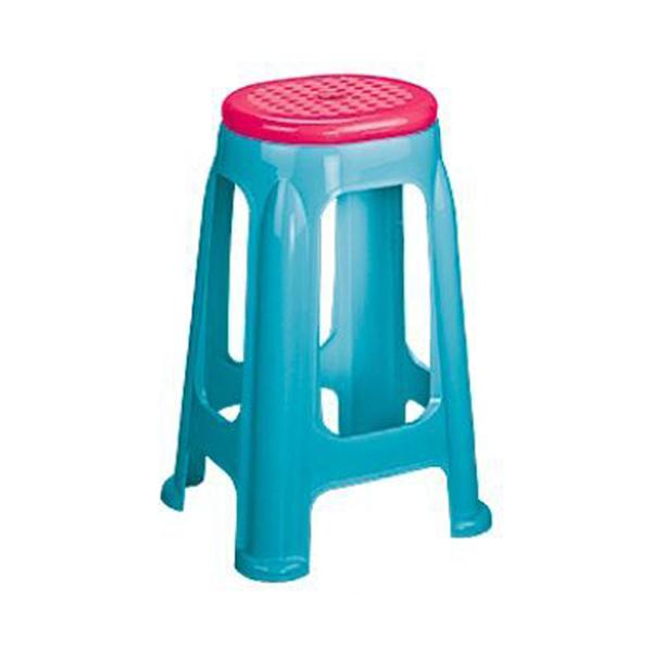 چهارپایه دورنگ بلند کد ۱۴۱۷ ناصر پلاستیک