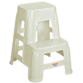 چهارپایه دوپله بلند کد ۱۶۱۷ ناصر پلاستیک