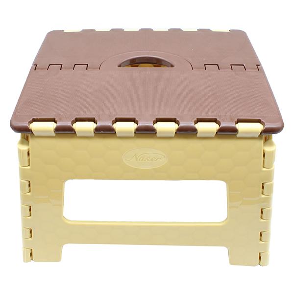 چهارپایه تاشو ۱ کد ۵۱۵ ناصر پلاستیک